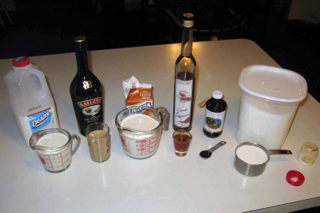 whisky ice cream ingredients
