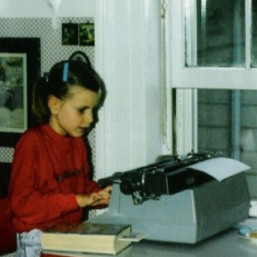 little lizzie typing