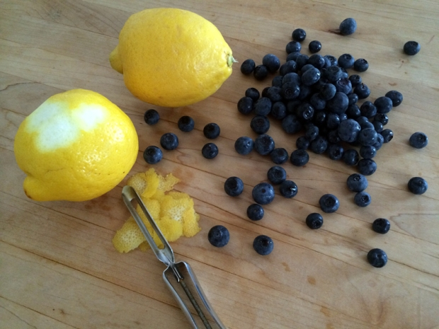lemon blueberry ice cream 1
