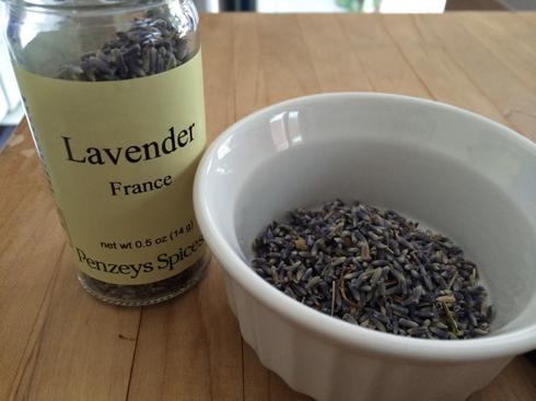 Lavender Lemonade Sorbet 1